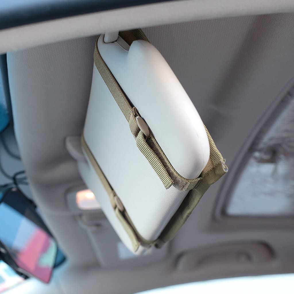 Tactical veicolo visiera panel Truck auto parasole organizzatore del sacchetto parasole Storage Bag adatta per la maggior parte dei veicoli