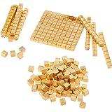 Material Dourado em Madeira 111 peças, Nig Brinquedos