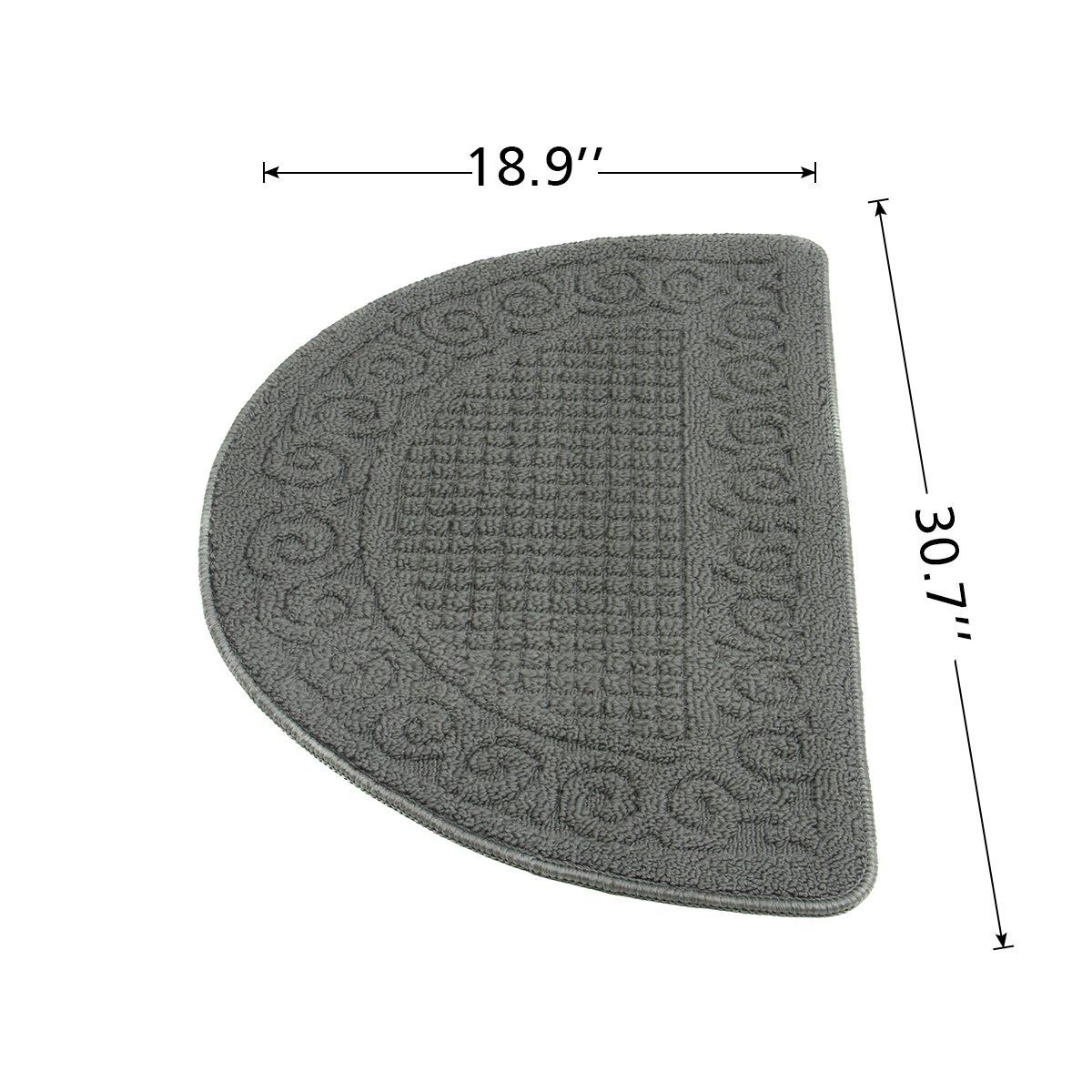 YOUKADA Waterhog Fashion Diamond Polypropylene Fiber Entrance Indoor Floor Mat, SBR Rubber Backing, 31\