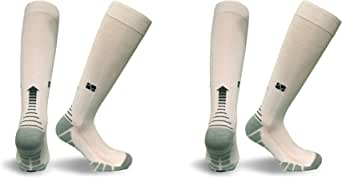 Vitalsox Italy, VT1211 Patented Graduated Compression Socks Carbon Series- One Pair