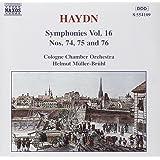 Sinfonien 74-76