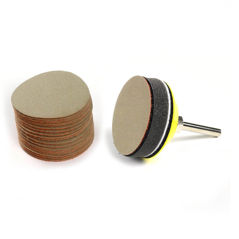 2 inch  Hook and Loop Sanding Discs 30//pk 1000 Grit