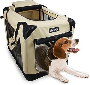 JESPET Soft Pet Crates Kennel 26