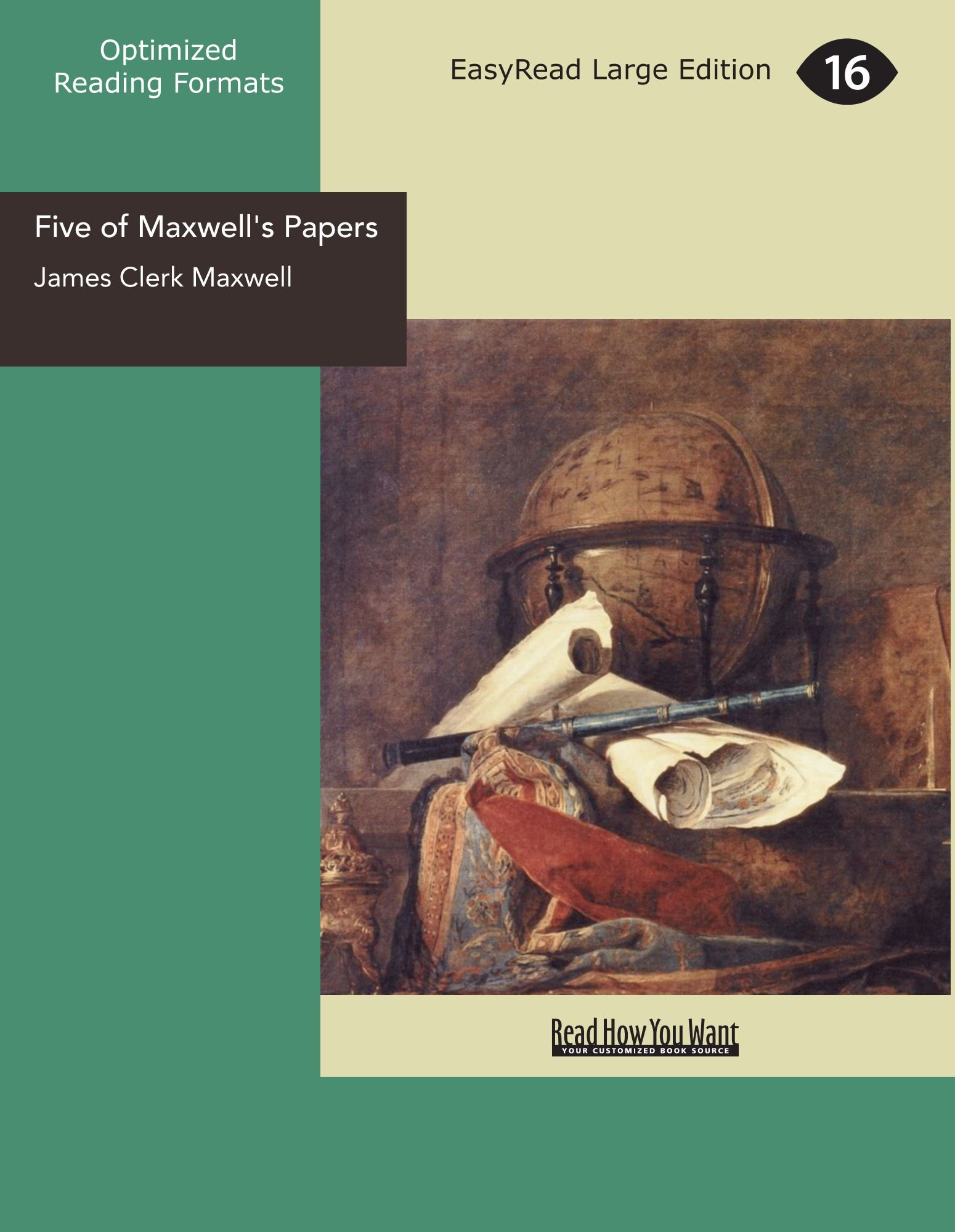 Download Five of Maxwell's Papers pdf epub