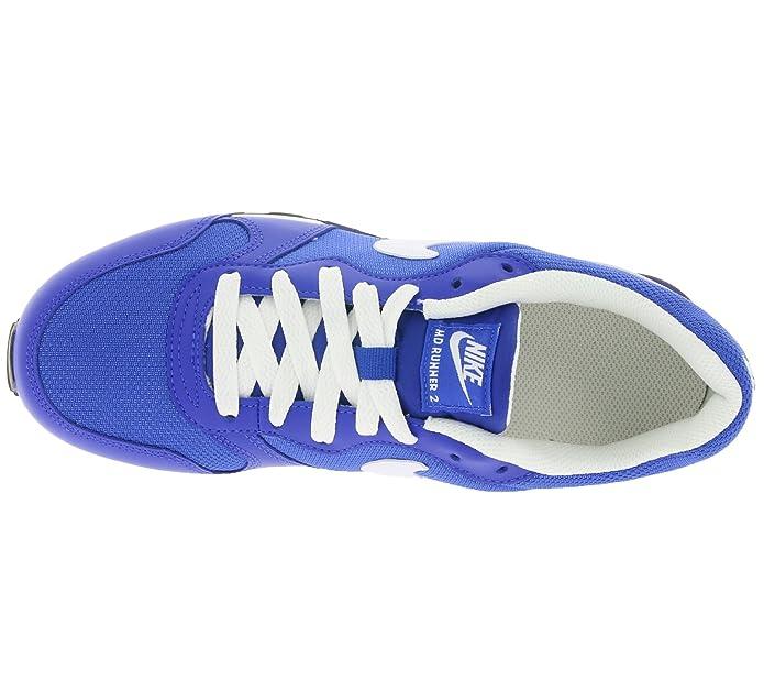 new arrivals 32b06 b20af Nike MD Runner 2 (GS), Chaussures de Running Entrainement Garçon, Azul (
