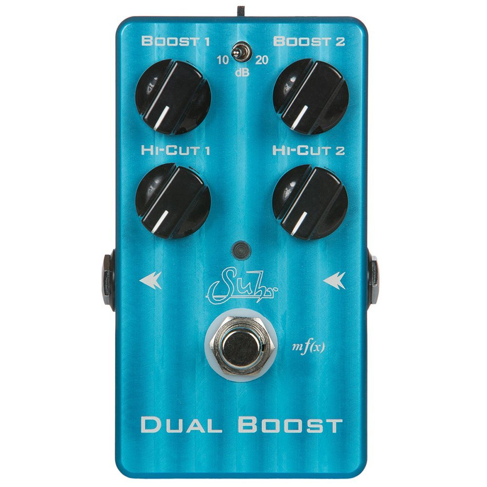 Suhr Dual Boost Guitar Effects Pedal by Suhr