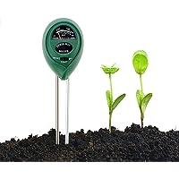 Abafia Bodemtester, 3-in-1 bodemvochtigheid en PH, lichtintensiteit bodemtester, geen batterijen nodig, kan binnen en…