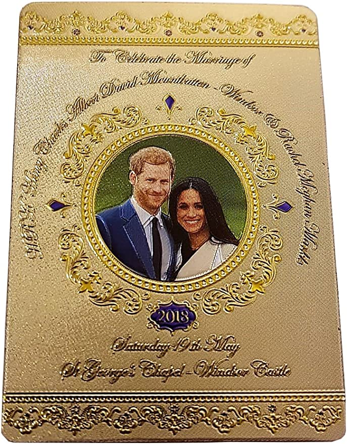 Royal Wedding of HRH Prince Harry /& Meghan Commemorative Cushion Cover w//Inner