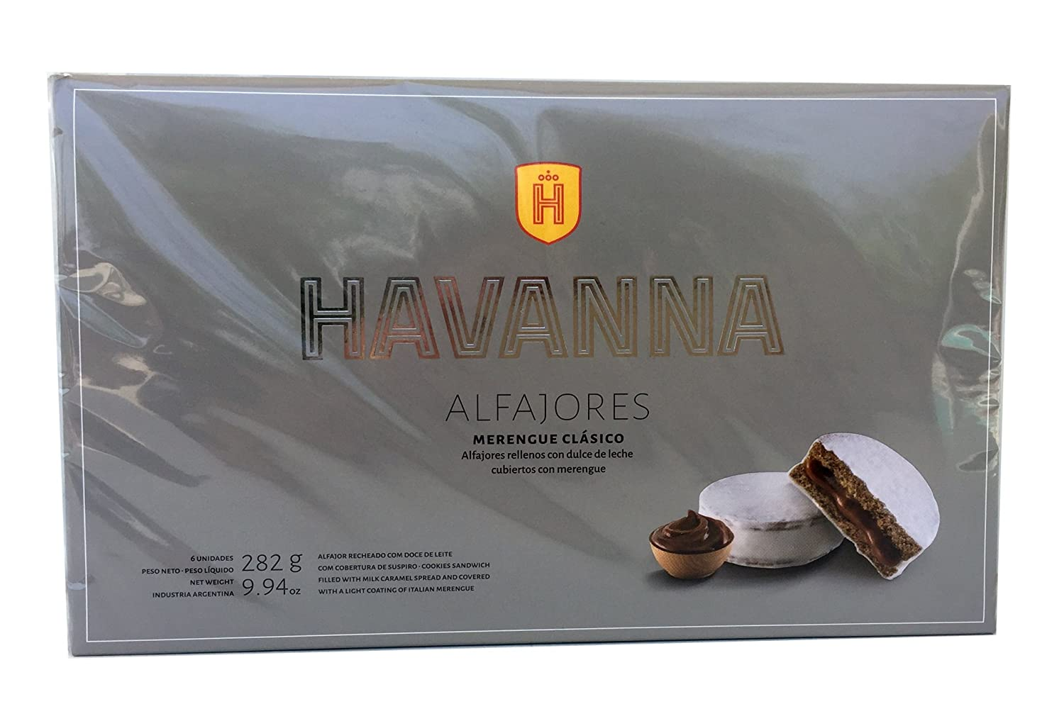 Amazon.com : havanna alfajores merengue clasico x 6 : Grocery & Gourmet Food