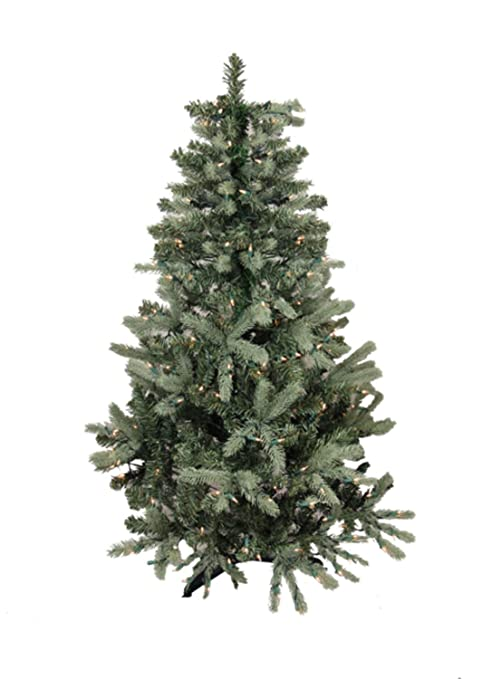 Image Unavailable. Image not available for. Color: 9' Pre-Lit Blue Spruce  Full Artificial Christmas Tree ... - Amazon.com: 9' Pre-Lit Blue Spruce Full Artificial Christmas Tree