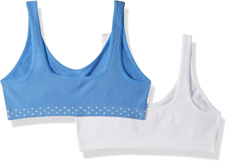 Hanes Big Girls Seamless ComfortFlex Fit Cozy Pullover Bra 2-Pack Bra