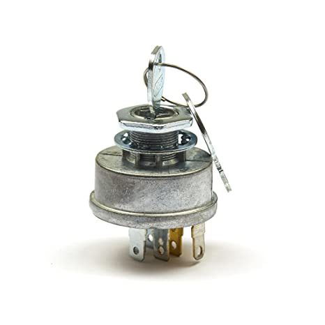 amazon com : briggs & stratton 692318 key switch assembly : lawn mower fuel  lines : garden & outdoor