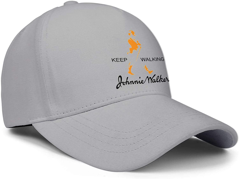 Mens Womens Johnnie-Walker Cap Vintage Hats Outdoor Caps