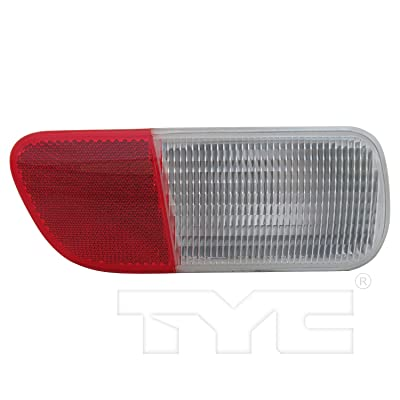 TYC 17-5254-00-1 Compatible with Chrysler PT Cruiser Left Replacement Reflex Reflector: Automotive