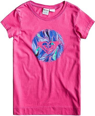 Roxy - Camiseta de manga corta - para niña: Amazon.es: Ropa y ...