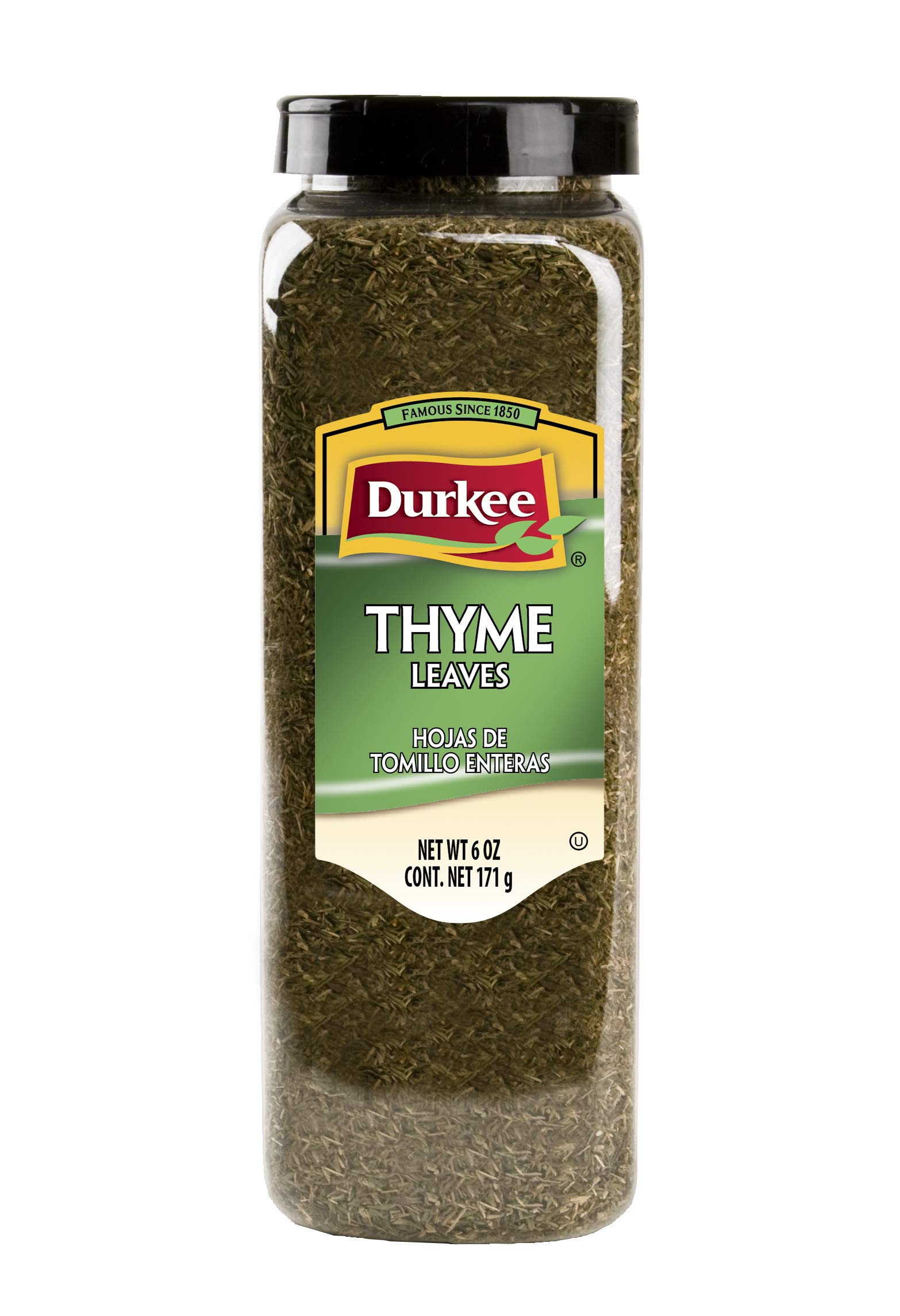 Durkee Thyme Leaves - 6 oz. container, 6 per case by Durkee