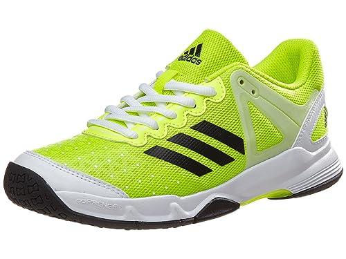 adidas - Zapatillas de Tenis para niño Amarillo Amarillo Fluorescente y Negro: Amazon.es: Zapatos y complementos
