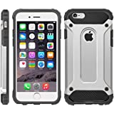 iPhone 6 Case, iPhone 6S Cover, Military-Duty Case - Impact Resistant Hybrid Heavy Duty [armor case] Dual Layer Armor Hard Plastic And Bumper Protective [SHOCKPROOF] Case