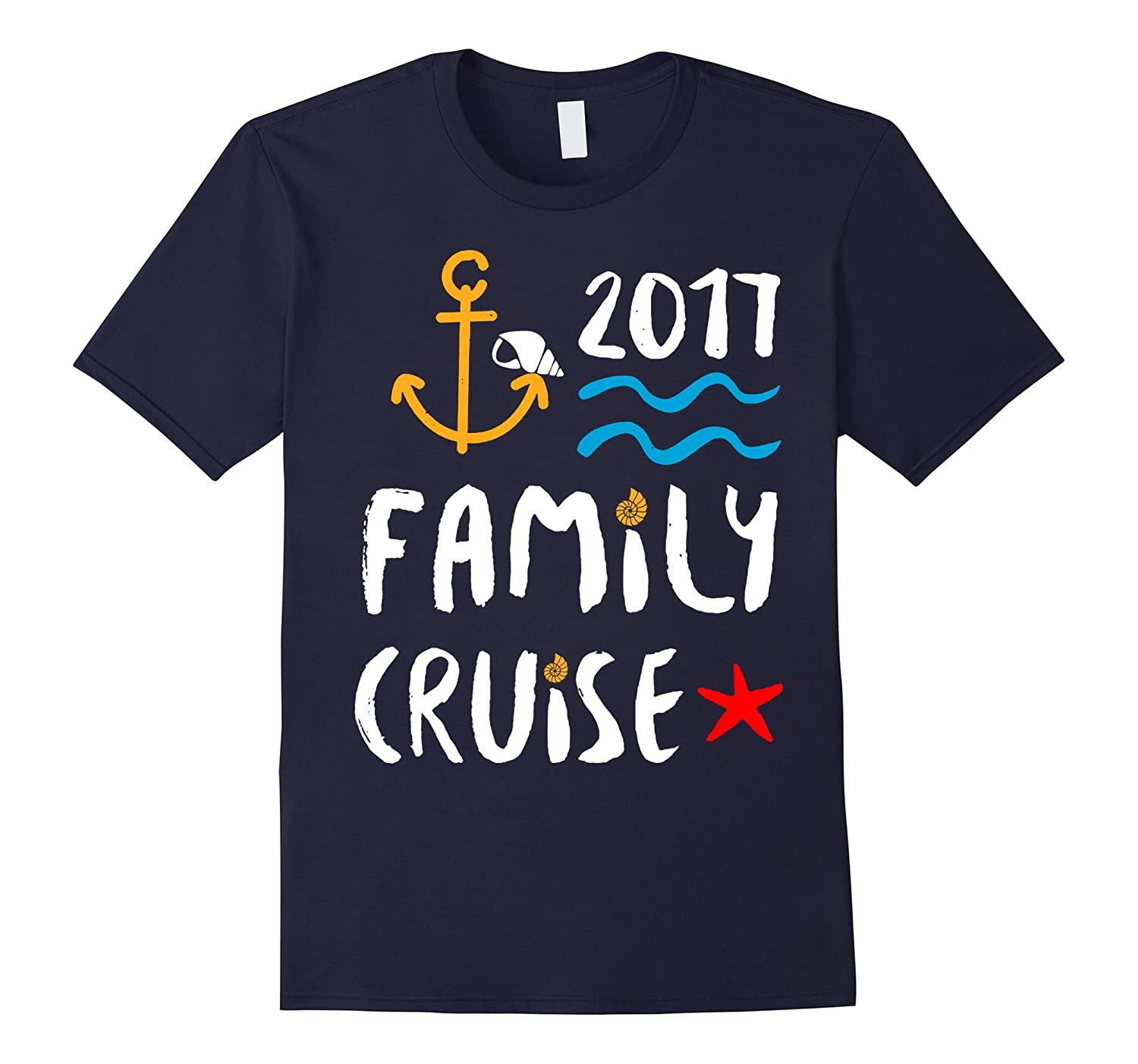 FAMILY CRUISE 2017 VACATION SHIP T-SHIRT-TD