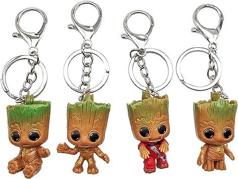 Die Action Figur aus Marvel/'s Guardians of The Baby Groot Schlüsselanhänger