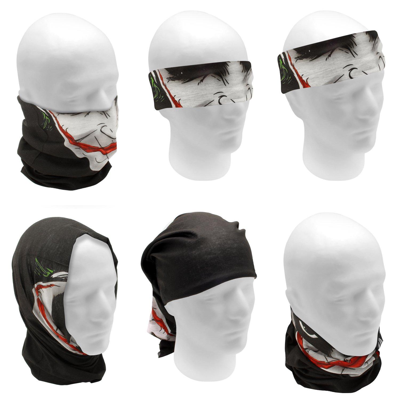 CampTeck Bandana Tubolare Multifunzione Sciarpa Scaldacollo Facciale Maschera per Motociclismo Ciclismo ed Altro Attivit/á Allaperto Equitazione Escursionismo