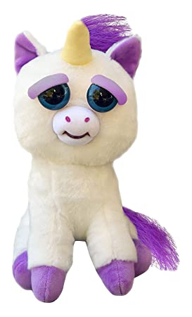 Feisty Pets FP-UNI Glenda Glitterpoop Unicorn Plush Toys Peluches (Poni)