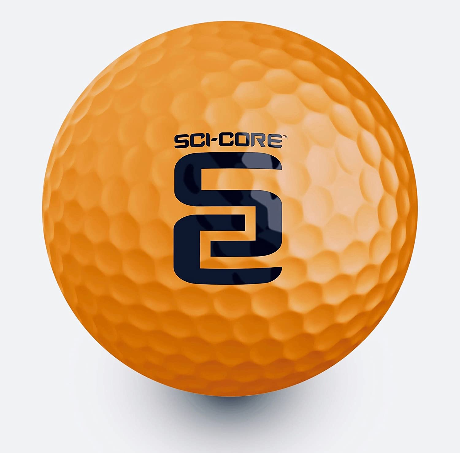 Swing Coach SCI-CORE Real-Feel Indoor-Outdoor Golf Practice Ball 12 Pack