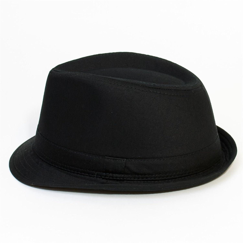 Amazon.com  Hat To Socks Plain Black Trilby with Plain Black Stitched Band  - Ladies Womens Mens Unisex (Black)  Clothing 374f0bc0e3d