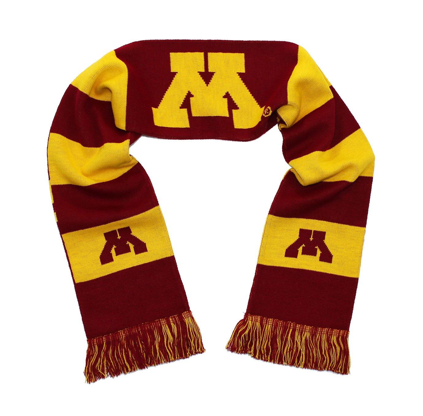 Minnesota Golden Gophers Scarf University of Minnesota Knitted