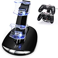 Y Team Playstation 4 Slim Controller Charger Charging Docking Station