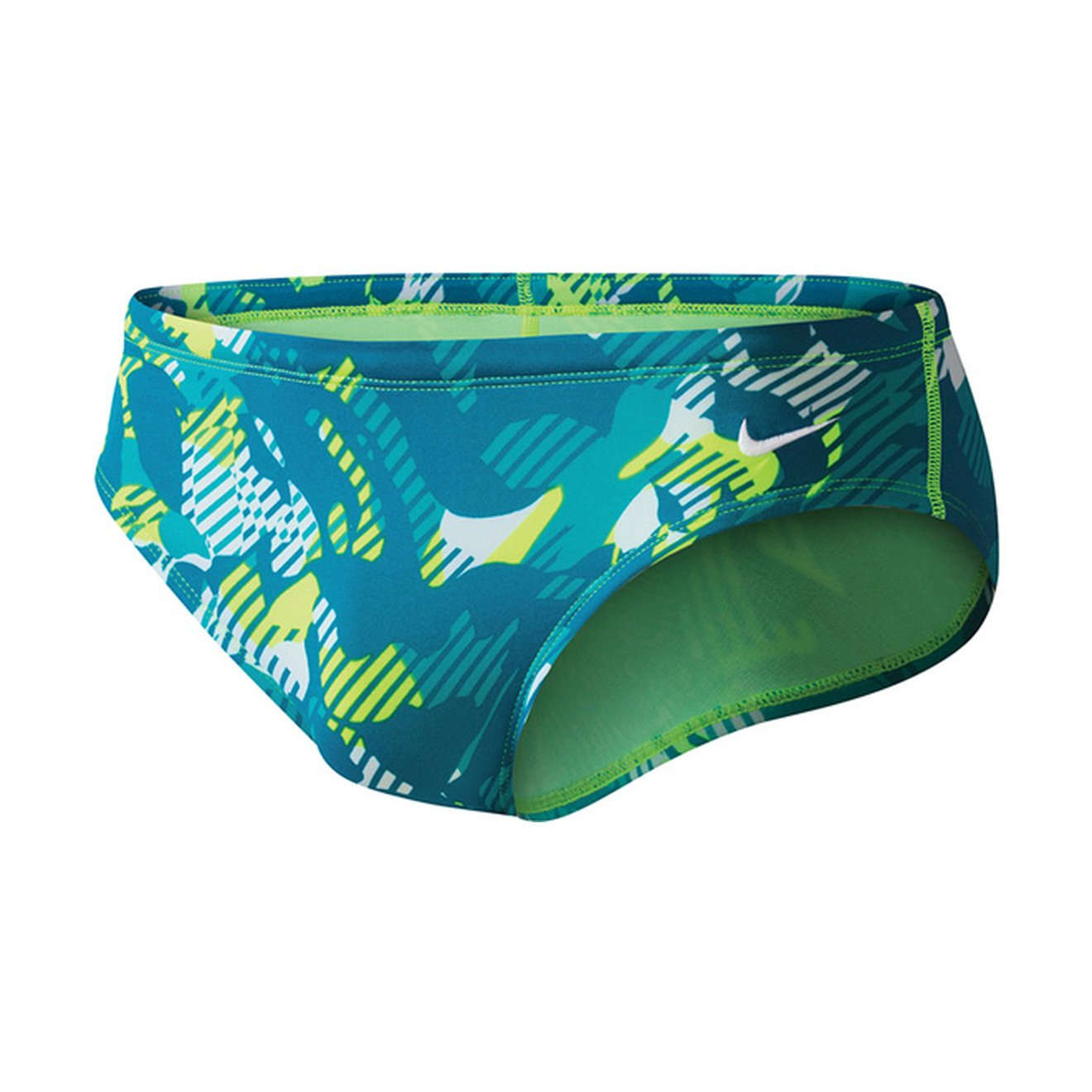 Nike Floral Camo Poly Blend Brief Male Volt 30 by Nike
