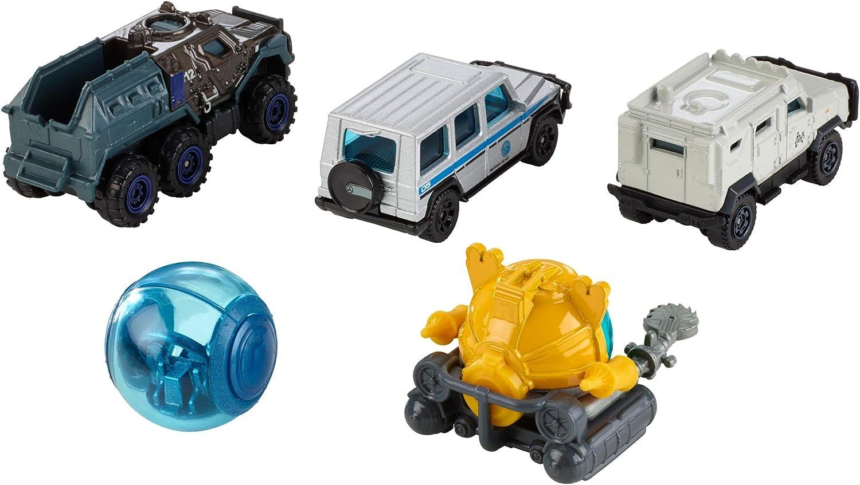 Matchbox Jurassic World 2 x 5 Pack Toy Vehicle Car Set FMY24 and FMY25