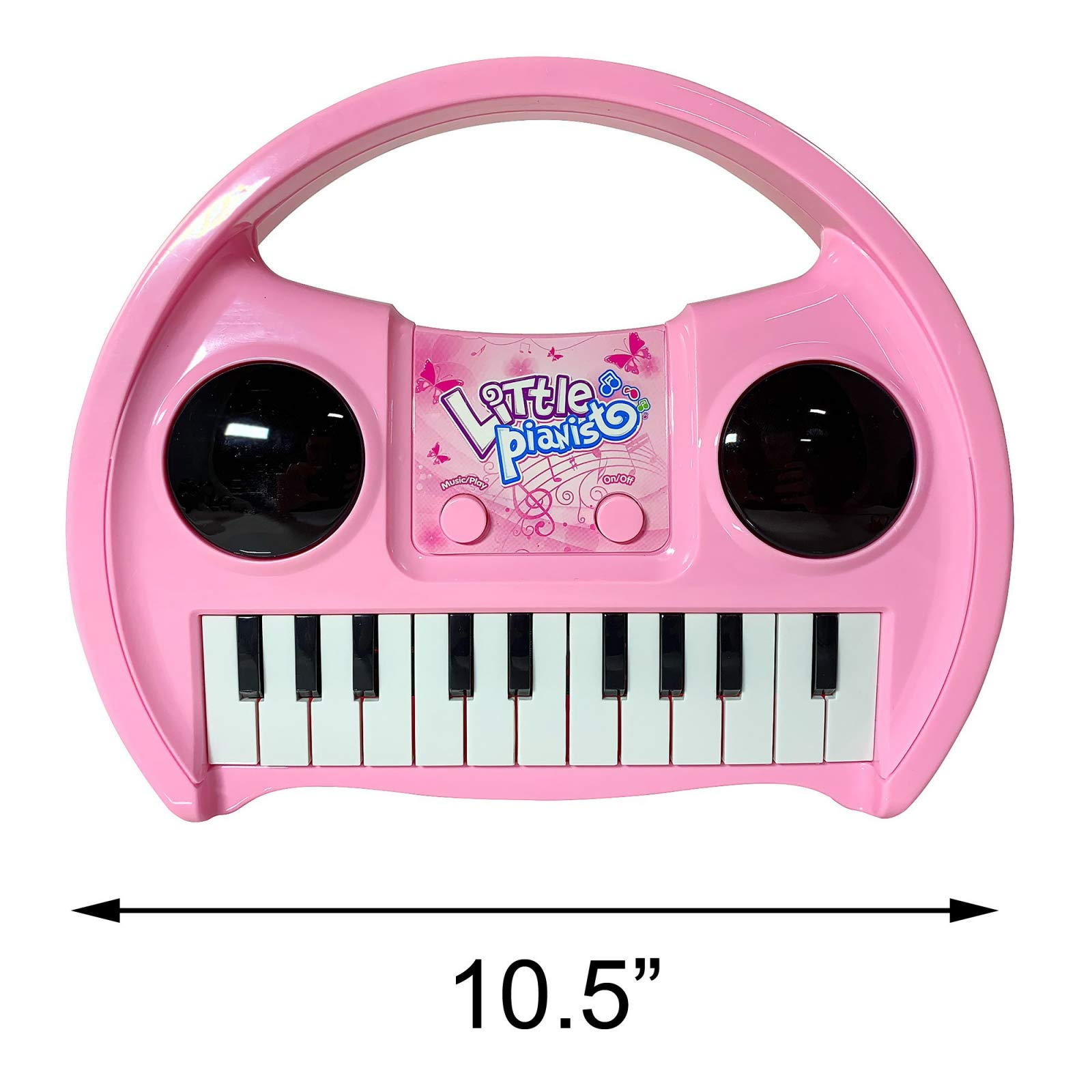 KidPlay Products Little Pianist Singing Musical Karaoke Lights Up Keyboard by KidPlay Products (Image #9)
