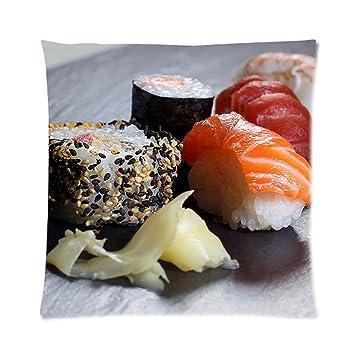 Amazon.com: Sashimi Sushi zpc287 Arte Funda de cojín ...