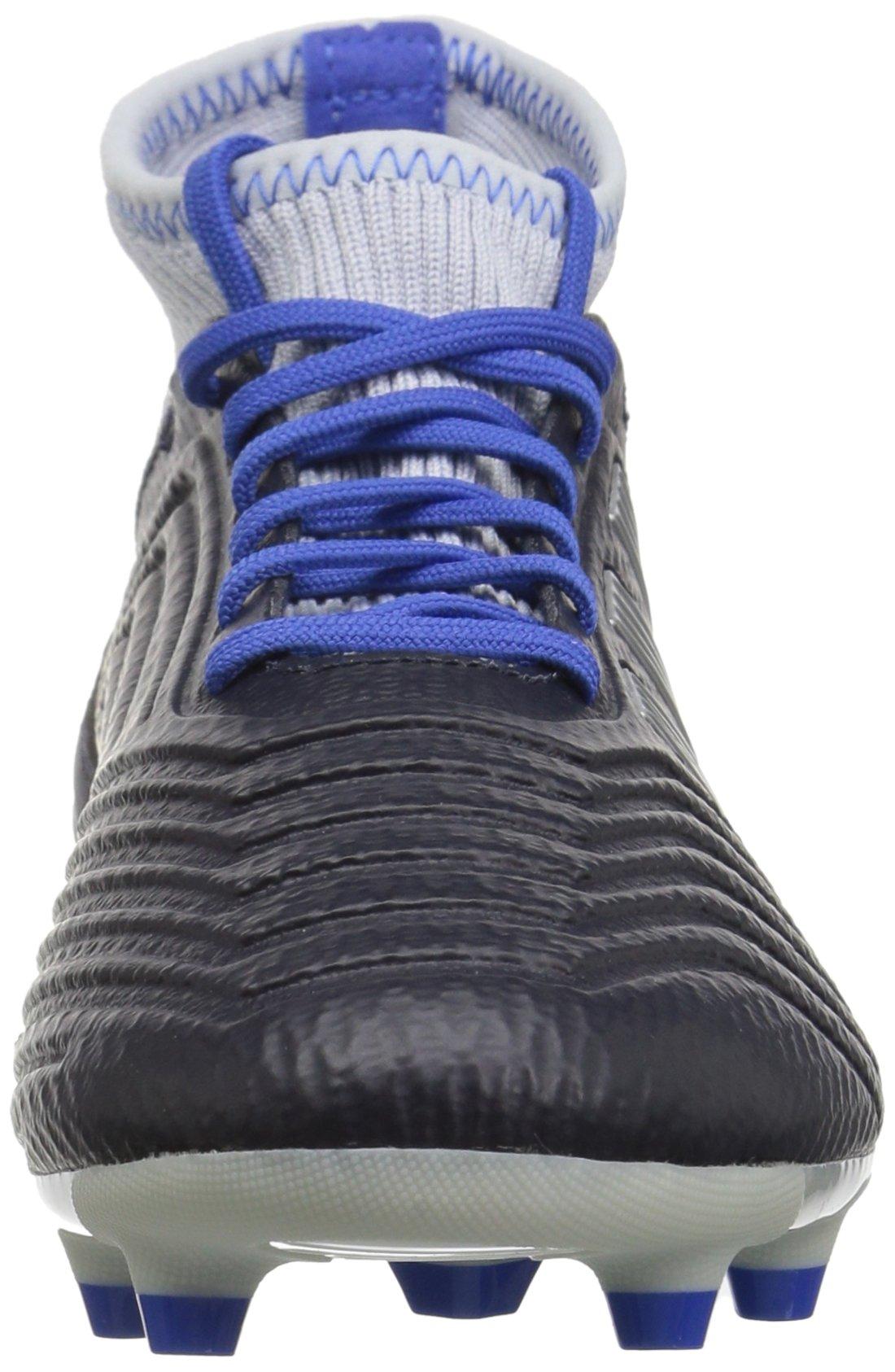 adidas Women's Predator 18.3 Firm Ground Soccer Shoe Legend Ink/Silver Metallic/aero Blue 5.5 M US by adidas (Image #4)