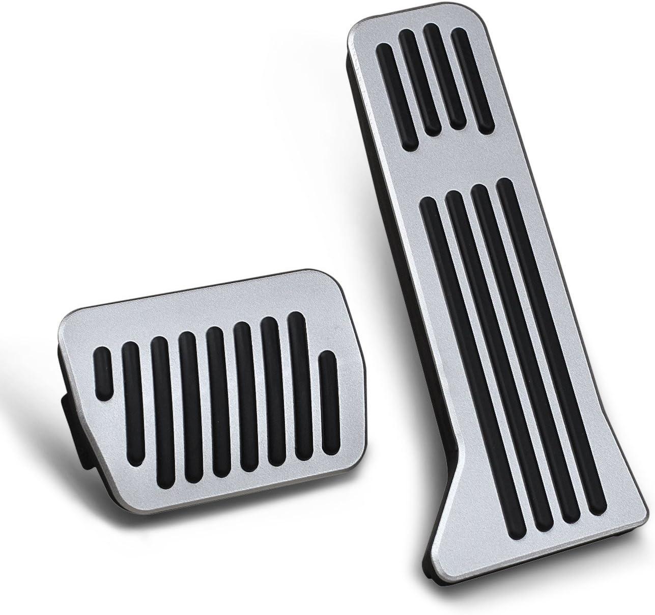 MT for 2 3 6 CX-3 CX-5 CX-9 No Drill Accelerator Brake Gas Pedals Pad Cover Cap Accessories