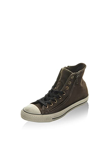 b0ed2d0f3746 Converse Unisex Adults  All Star Hi Double Zip Suede Low-Top ...