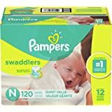 Pampers Swaddlers Disposable Diapers Size