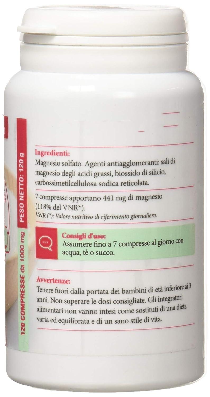 benefici del solfato di magnesio per la perdita di peso