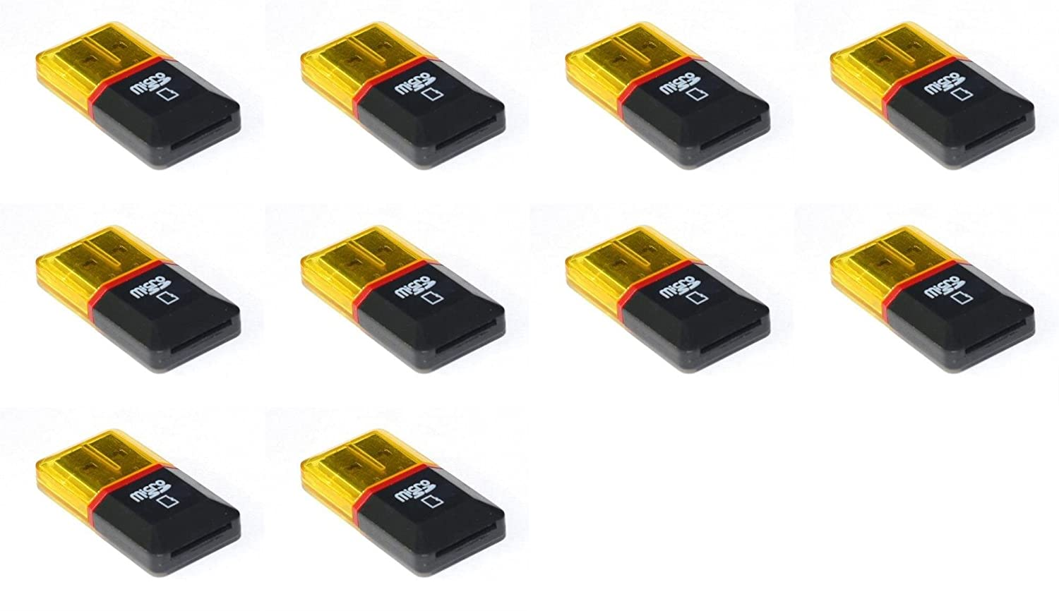 10 x Quantity of Blackberry U890 Micro SD Card Reader Up to 32GB - FAST FROM Orlando, Florida USA!