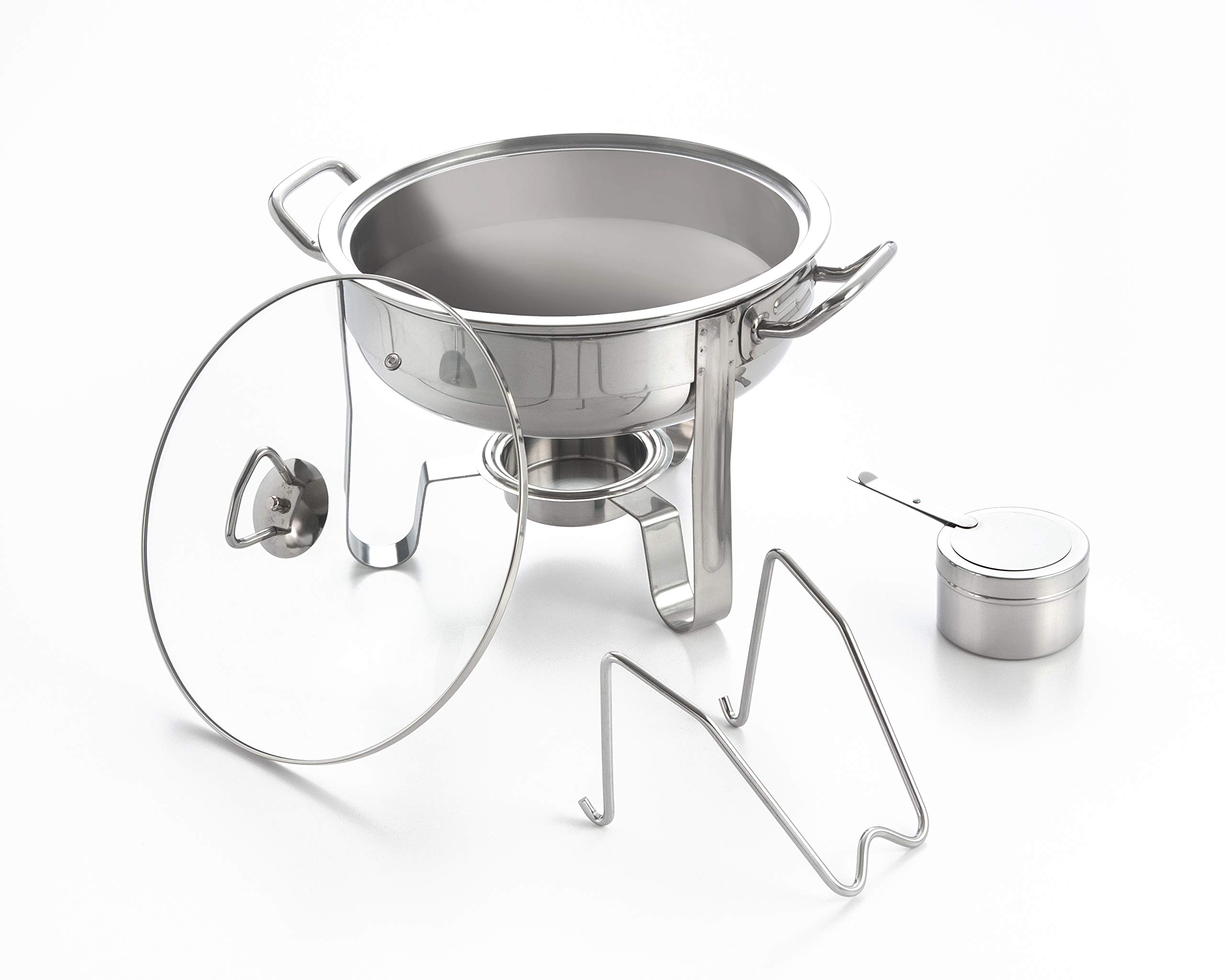Excelsteel 4-Quart Heavy Duty Professional Stainless Chafing Dish by ExcelSteel