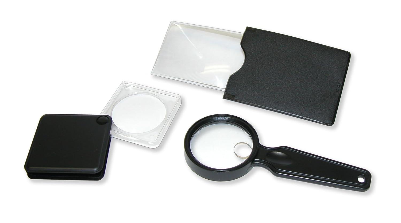 Carson ValuePak 3 Compact Assorted Magnifiers VP 01