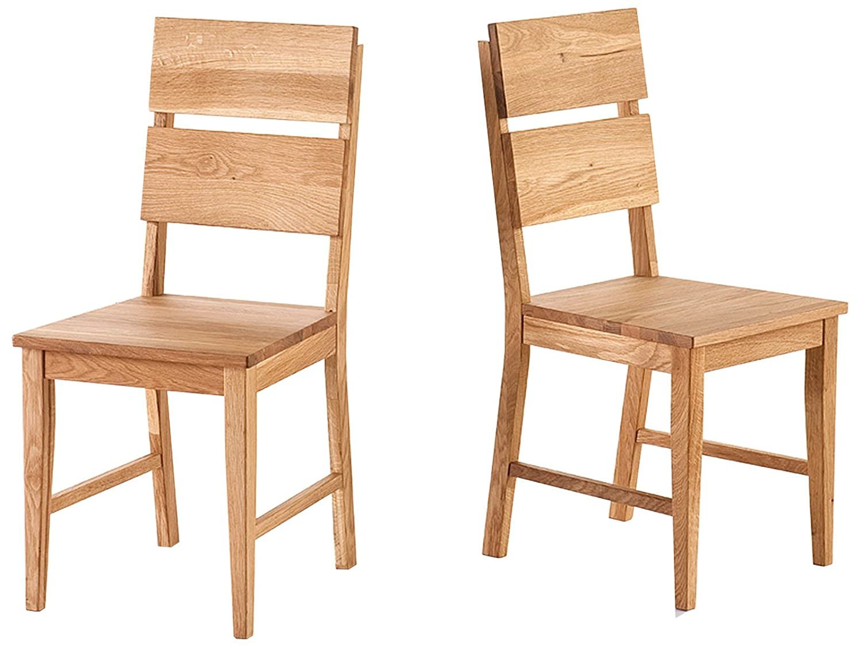 Holzstuhl Küchenstuhl Stuhl Esszimmerstuhl Viefuß Massivholz