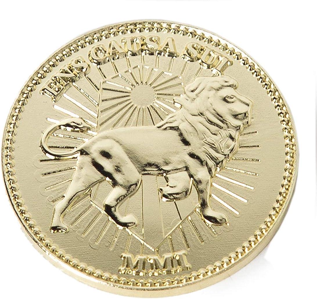 Gold Coins, Collecting Coins Golden Metal Coin 1 Piece