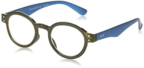 b787500200f87 Image Unavailable. Image not available for. Colour  Peepers Unisex-Adult  Book It! 359300 Round Reading Glasses ...