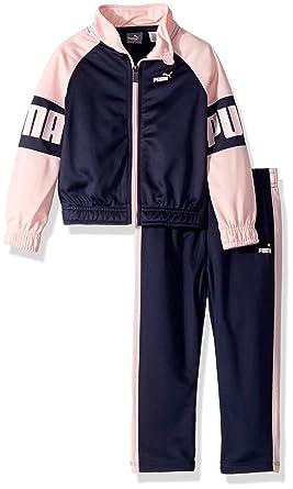 b1ccae0e0c01 Amazon.com  PUMA Toddler Girls  Track Set  Clothing