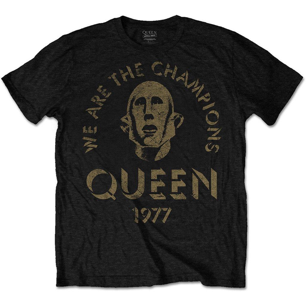 nouveaux styles c069b 1c2e0 Amazon.com: Queen We are The Champions Freddie Mercury ...