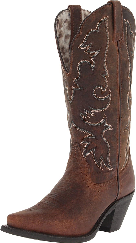 Laredo Women's Access Western Boot B00EAI4IE2 9 W US|Vintage Tan