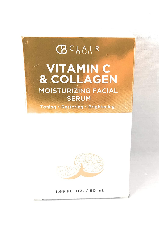 Clair Beauty Vitamin C and Collagen Moisturizing Facial Serum