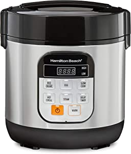 HAMILTON BEACH BRANDS INC 37524 1.5-Quart Stainless Steel multi cooker